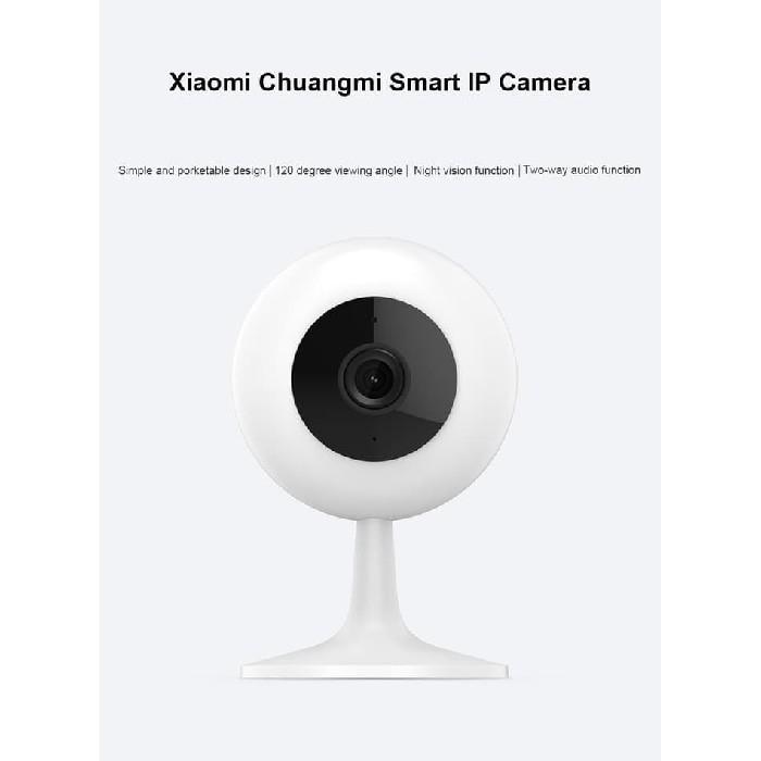 Xiaomi New Xiaofang Chuangmi Wifi IP Camera CCTV Night