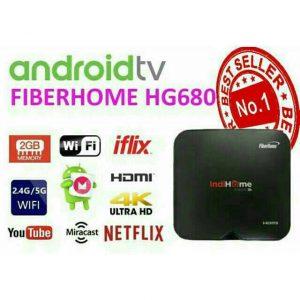 Smart TV Box Fiberhome Indihome HG680 4K UHD Root Edition
